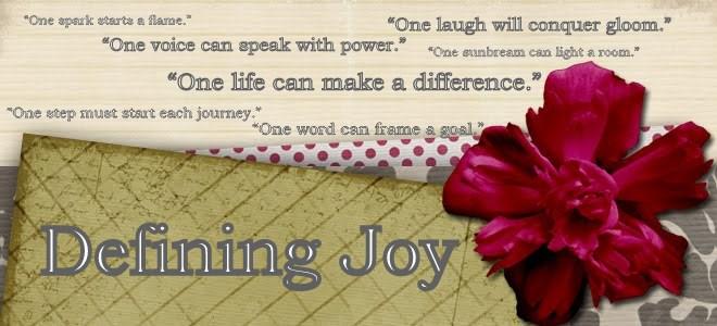 Defining Joy