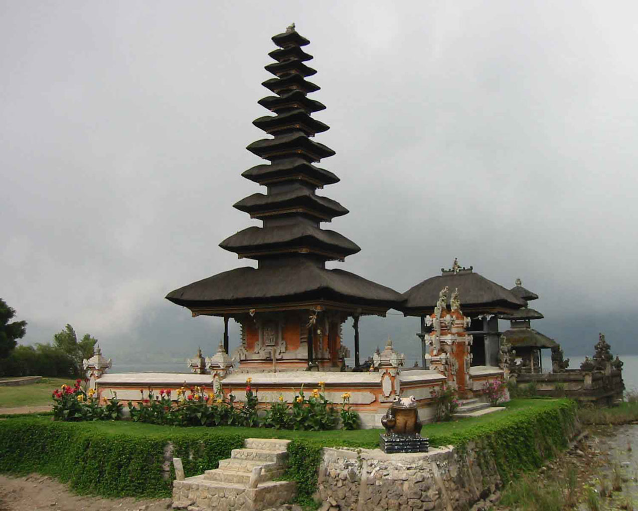 Tourism Beautiful Bali Temple