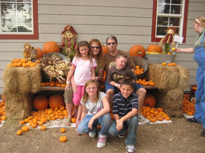 Pearson Family on Halloween 2008!