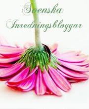Jag är medlem i Svenska Inredninsbloggar...