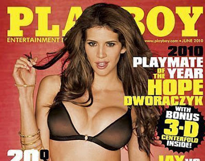 Hope Dworaczyk nua Playboy