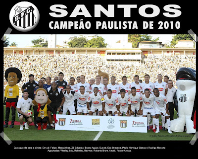 Santos Campeão Paulista 2010