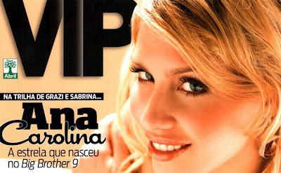 fotos de Ana Carolina pelada na VIP