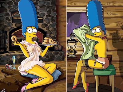 fotos da Marge Simpson pelada na Playboy