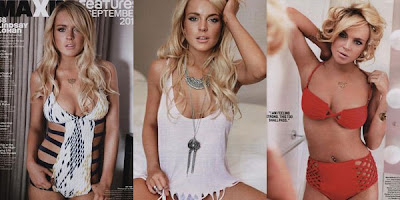 Lindsay Lohan semi nua