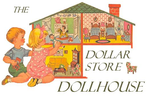 Dollar Store Dollhouse
