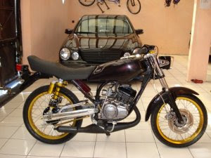 Yamaha RX king - Modifikasi : Legend of the king with the power inside