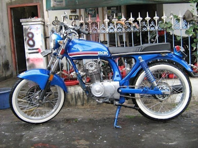 Motorcycle Club Indonesia on Honda Cb 100   Modifications Motorcycle
