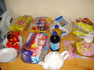 PArty Food from Top Enders 5th Birthday