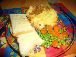 Sheppard's Pie or Cottage Pie depending on what Mince Daddy uses.