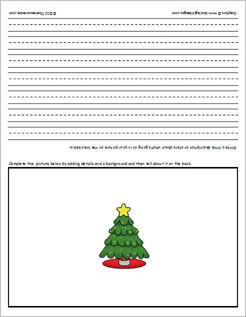Christmas Language Arts Worksheets : Christmas language arts worksheets
