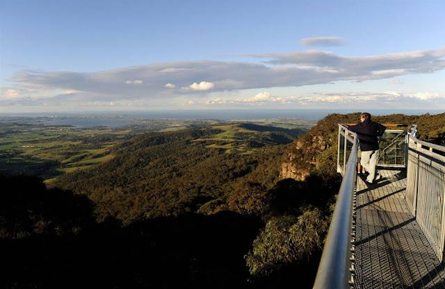 Impresionantes vistas de la naturaleza australiana.