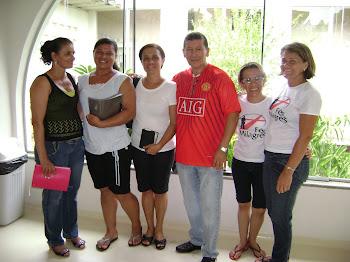 Evangelizando na Fundação Hospitalar - Rio Branco-AC.