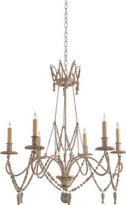 Shabby Chic Chandeliers - French Country Furniture | Distressed