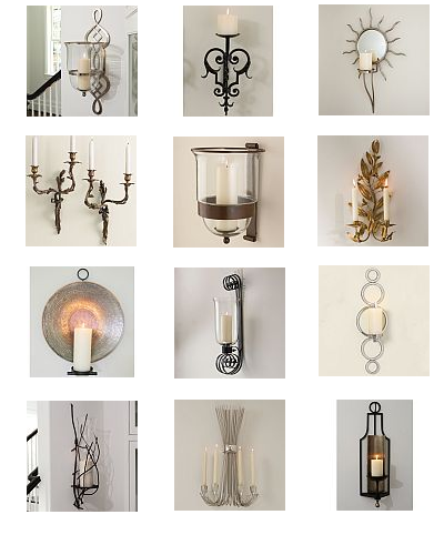 The Designer Insider: Need Great Candle Sconces?