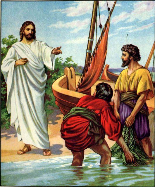 Evangelio 23 de Enero de 2011 Jesus-disipulos