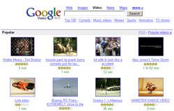 Google Video Stats