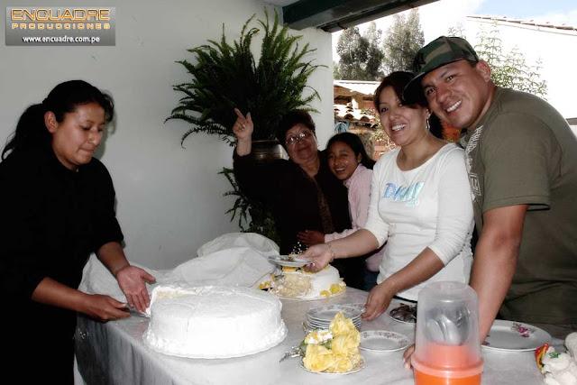 Foto boda novios Perú