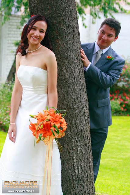 foto boda novios cajamarca peru
