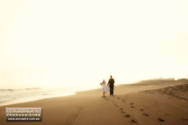 foto boda playa atardecer chorrillos lima peru