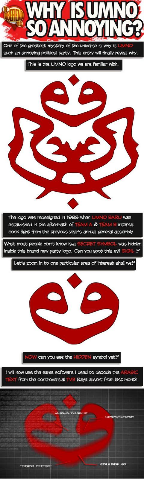 gambar logo umno. OBECOMIC #23 - Why Is UMNO So