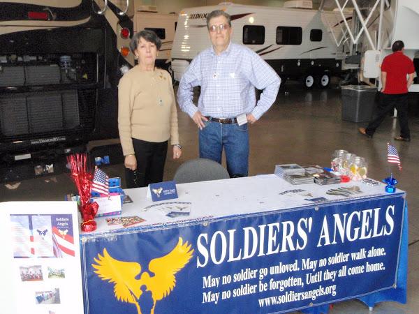 ECLV member, Norman Boris, volunteering with Jeni Ford