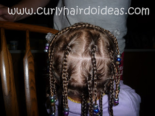 Curly Hairdo Ideas Box Braids