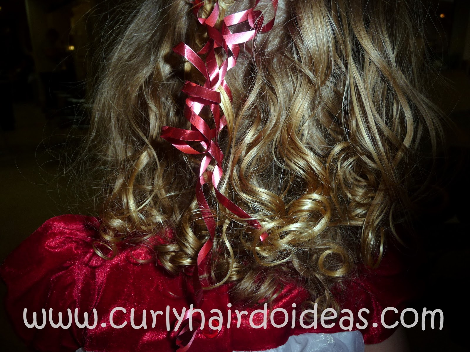 (In case you missed them, check out Christmas Braids and Ribbons Hairstyle ...