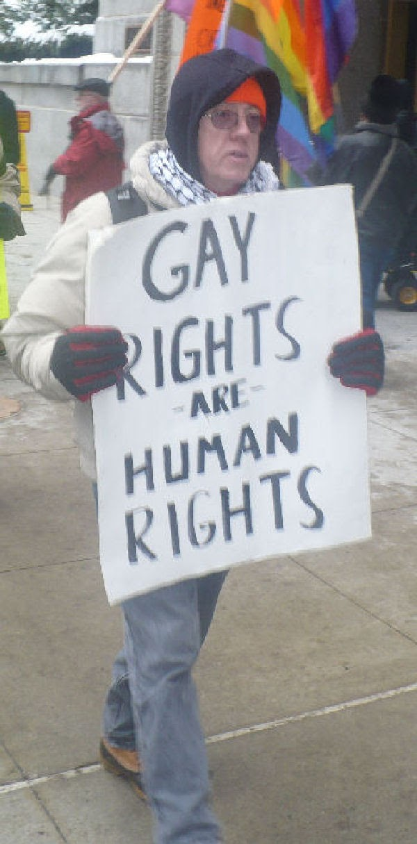 Our main argument derives from the lack of civil rights that gay people in ...