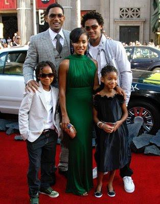 will smith family 2009. will smith family. will smith