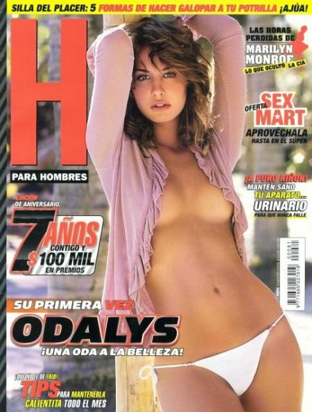 Fotos Porno De Odalys Garcia Desnuda Para Revista H Hombres