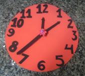 relógio de eva
