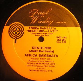 Afrika Bambaataa – Death Mix [VLS] (1983)[INFO]