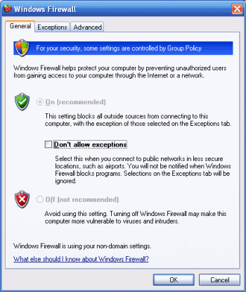how to fix windows firewall