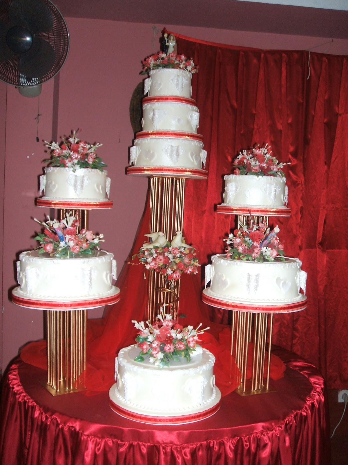 Wedding Cake Structure