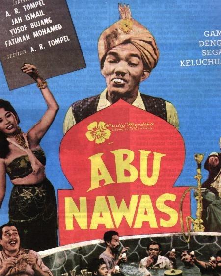 Abu Nawas sedang berjalan-jalan santai. Ada kerumunan masa. Abu Nawas ...