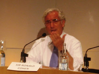 Sir Ronald Cohen at the Skoll World Forum 2009