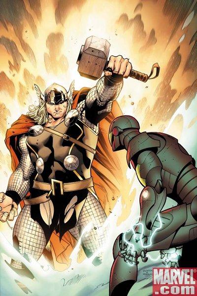 Olivier Coipel, Thor, Iron Man