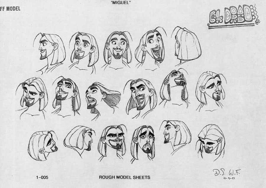 Character Design Dreamworks : Living lines library the road to el dorado