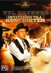 INVITATION TO A GUNFIGHTER - CONVITE A UM PISTOLEIRO - 1964