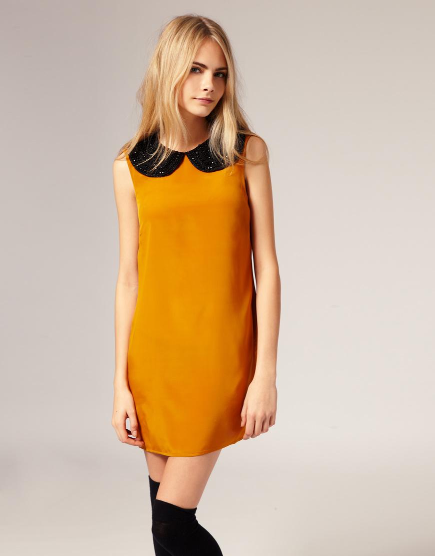 Luxury Baby Collar Dress Styles  Best Celebrity Style