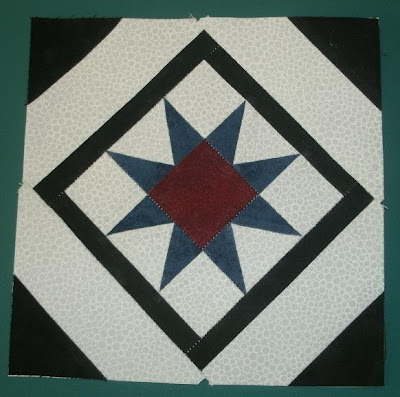 Quilt Patterns On Wisconsin Barns : Kim s Northwoods Discoveries: Star Tile - Wisconsin Quilt Blocks on Barns, Block of the Week