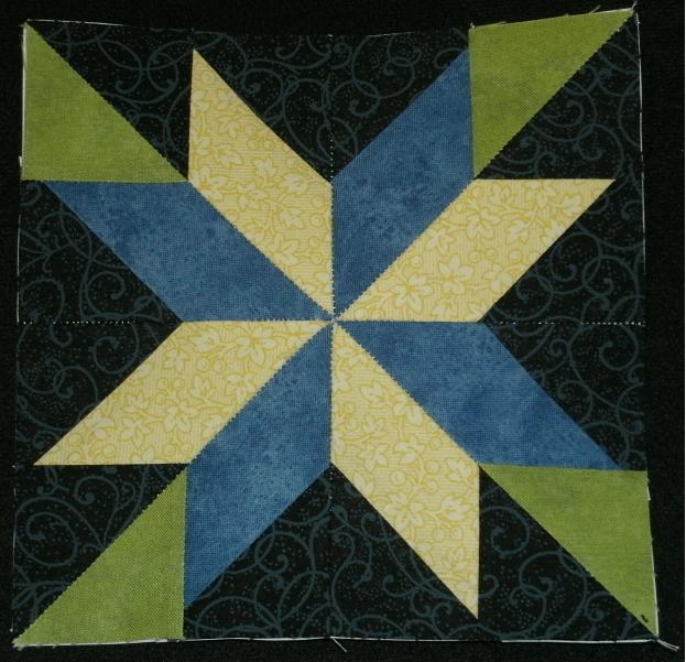 Quilt Patterns On Wisconsin Barns : Kim s Northwoods Discoveries: Constellation Star - Wisconsin Quilt Blocks on Barns, Block of the ...