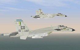 Caças russo Su-35