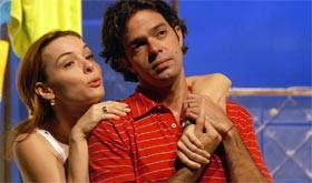 Regiane Alves e Bruno Mazzeo na peça Enfim, Nós - Teatro da UFPE - Recife