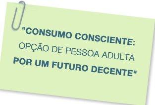 O consumo consciente é saudável