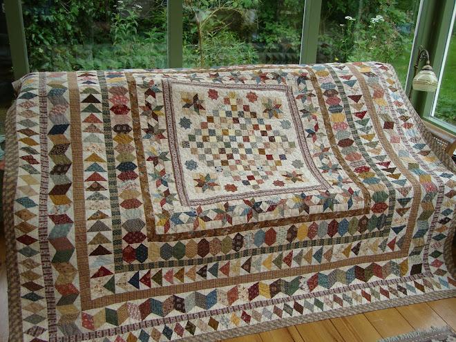 Antieke quilt