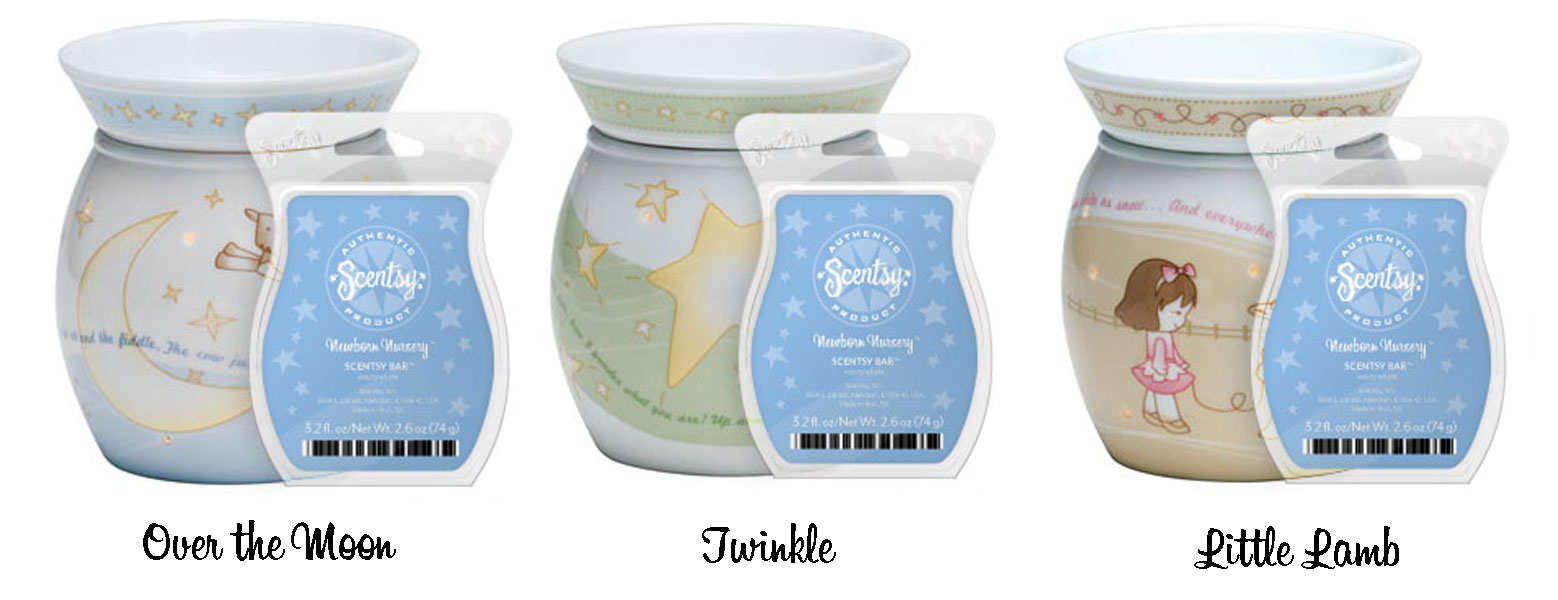 The Bundle Pack Includes Any Mid Size Warmer From Nursery Collection With A Fresh Clean And Powdery Newborn Scentsy