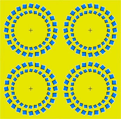 Ring appear to expand illusion