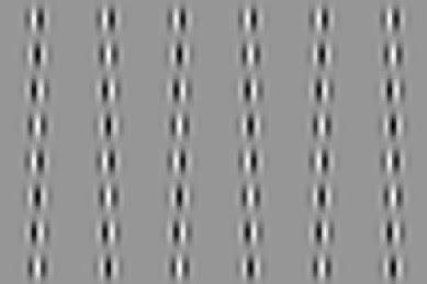The phase shift popple illusion